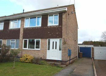 Thumbnail 3 bedroom semi-detached house to rent in Redland Close, Ilkeston, Derbyshire
