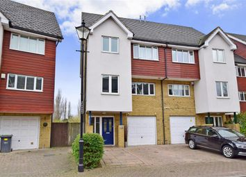 Thumbnail 4 bed town house for sale in Friars View, Aylesford, Kent