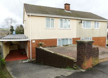 Thumbnail 3 bed semi-detached house for sale in Cefn Road, Glais, Swansea, West Glamorgan