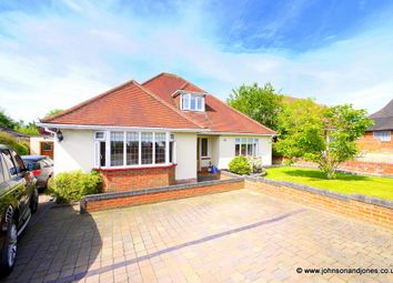 Thumbnail 4 bed detached house to rent in Hillcrest Avenue, Chertsey