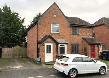 Thumbnail 2 bed semi-detached house to rent in Barwoods Drive, Saltney, Chester