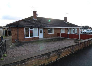 Thumbnail 2 bed bungalow for sale in Shelley Close, Balderton, Newark