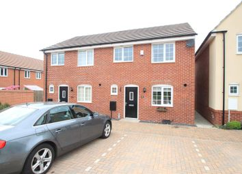 Thumbnail 3 bed semi-detached house for sale in Sansome Drive, Hinckley