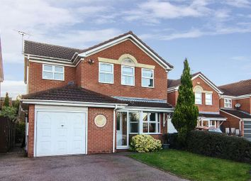 Thumbnail 4 bed detached house for sale in Heath View, Boney Hay, Burntwood