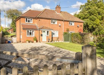 Thumbnail 3 bed semi-detached house for sale in Dummer Road, Axford, Basingstoke, Hampshire