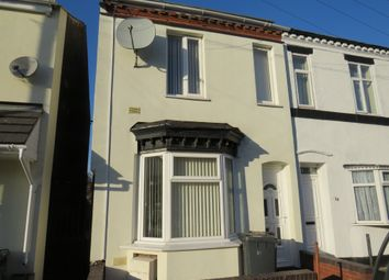 Thumbnail 3 bed end terrace house for sale in Lowe Street, Wolverhampton