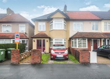 Thumbnail 4 bed end terrace house for sale in Clarendon Road, Cheshunt, Herts