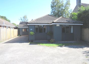 Thumbnail 5 bed detached bungalow for sale in Church Road, Three Legged Cross, Wimborne