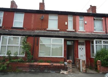 Thumbnail 3 bed terraced house to rent in Kippax Street, Rusholme, Manchester