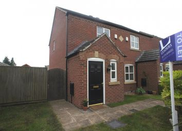Thumbnail 2 bed semi-detached house to rent in Haslam Place, Belper, Derbyshire
