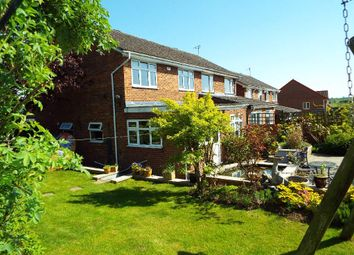 Thumbnail 3 bed semi-detached house for sale in Dando Close, Wollaston, Northamptonshire