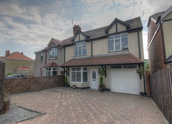 Thumbnail 5 bedroom semi-detached house for sale in St. Aidans Terrace, New Herrington, Houghton Le Spring