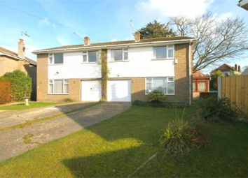 Thumbnail 3 bed semi-detached house for sale in Dorchester Gardens, Oakdale, Poole
