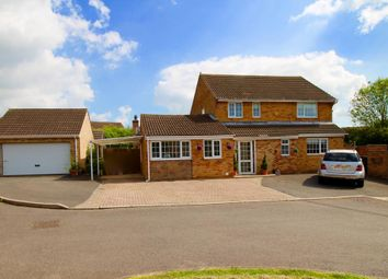 Thumbnail 4 bed detached house for sale in Home Close, Great Oakley, Corby