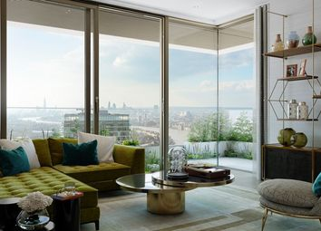 Thumbnail 2 bed flat for sale in Wardian Development- Marsh Wall, Canary Wharf