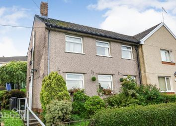 Thumbnail 3 bed semi-detached house for sale in Valley View, Cimla, Neath