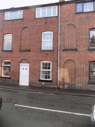 Thumbnail 3 bed terraced house to rent in Fountain Street, Leek, Staffordshire