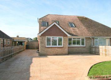 Thumbnail 3 bed bungalow to rent in The Croft, East Preston, Littlehampton