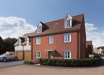 Thumbnail 5 bed detached house for sale in Hunters Grove, Cambridge Road, Puckeridge, Herts
