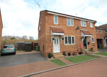 Thumbnail 3 bed semi-detached house for sale in Walsby Drive, Kemsley, Sittingbourne, Kent