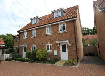 Thumbnail 3 bed town house to rent in Orchard Close, Burgess Hill