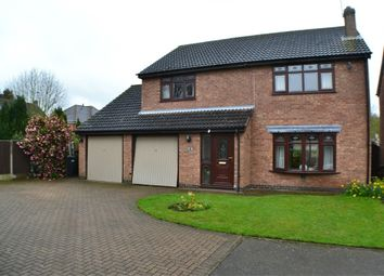 Thumbnail 4 bed detached house for sale in Pinetree Close, Newbold Verdon, Leicestershire