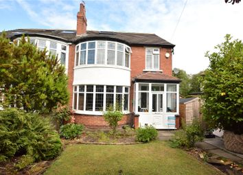 Thumbnail 5 bed semi-detached house for sale in Earlswood Avenue, Roundhay, Leeds