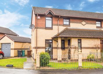 Thumbnail 3 bed semi-detached house for sale in Cameronian Place, Bellshill