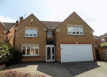 Thumbnail 4 bed detached house to rent in Trefoil Close, Bingham, Nottingham