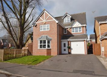 Thumbnail 4 bed detached house for sale in Old School Drive, Stafford