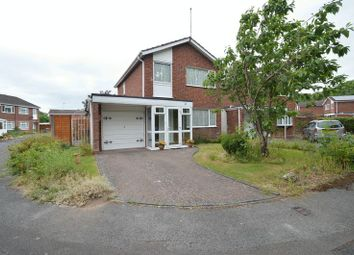 Thumbnail 3 bed detached house for sale in Middleton Close, Redditch