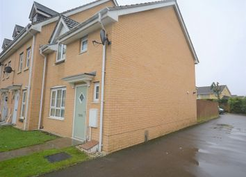 3 bed end terrace house for sale in Ffordd Brynhyfryd, Old St. Mellons, Cardiff. CF3