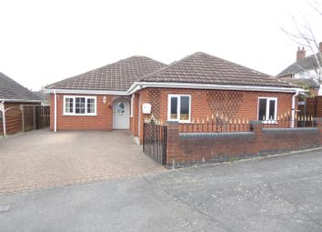 Thumbnail 4 bed detached bungalow for sale in Cherry Tree Close, Newhall, Swadlincote