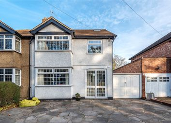 Thumbnail 4 bedroom semi-detached house for sale in Long Lane, Hillingdon, Middlesex