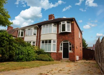 Thumbnail 3 bed semi-detached house for sale in Oakfield Road, Shrewsbury
