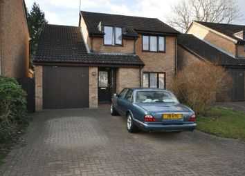 Thumbnail 4 bed detached house for sale in Willowside, Woodley, Reading
