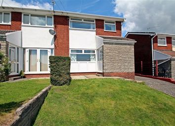 Thumbnail 3 bedroom semi-detached house to rent in Conway Crescent, Tonteg, Pontypridd