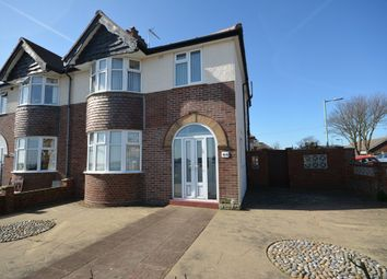Thumbnail 3 bedroom semi-detached house for sale in Pakefield Road, Lowestoft