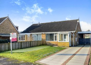 Thumbnail 3 bedroom semi-detached bungalow for sale in Windsor Drive, Wigginton, York