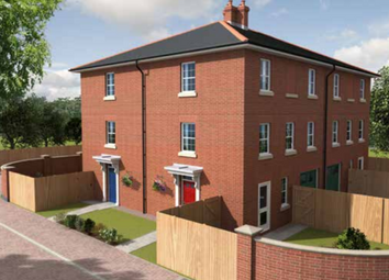 Thumbnail 3 bedroom town house for sale in The Cargill, Meadow Way, Spalding, Peterboroough