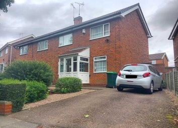 Thumbnail 3 bedroom semi-detached house for sale in Ladbury Road, Walsall