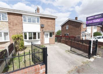 Thumbnail 2 bed semi-detached house for sale in Southfield Crescent, Rotherham