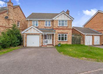 Thumbnail 4 bed detached house for sale in Daimler Avenue, Yaxley, Peterborough