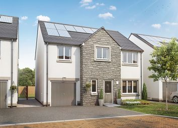 "Thumbnail 4 bed detached house for sale in ""The Carradale"" at Burdiehouse Road, Edinburgh"