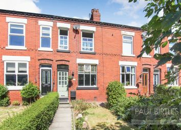 Thumbnail 2 bed terraced house for sale in Carrington Road, Flixton, Manchester