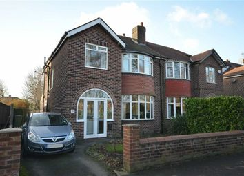 Thumbnail 3 bed semi-detached house for sale in Tatton Road North, Heaton Moor, Stockport, Greater Manchester