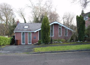 Thumbnail 3 bed detached bungalow for sale in Brooklands Drive, Goostrey, Crewe