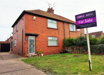 Thumbnail 3 bed semi-detached house for sale in Crookesbroom Lane, Doncaster