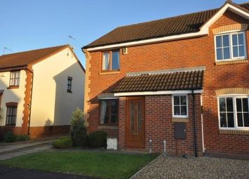 Thumbnail 2 bed semi-detached house to rent in Greeves Close, Duston