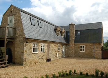 Thumbnail 4 bed country house to rent in Main Street, Woodnewton, Near Oundle